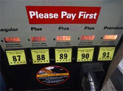 Posar benzina als Estats Units