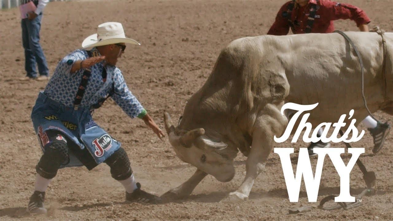 Pallassos de rodeo a Wyoming